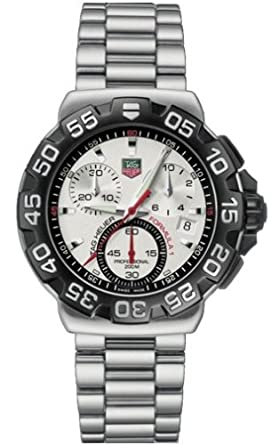775629dc801d Image Unavailable. Image not available for. Color  TAG Heuer Men s  CAH1111.BA0850 Formula 1 Collection Chronograph Stainless Steel Watch