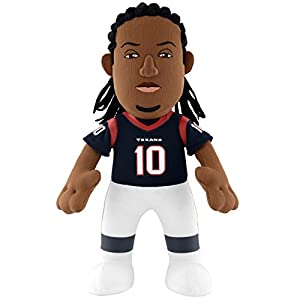 NFL Houston Texans Deandre Hopkins Plush Doll, Blue, 10""