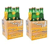 Maine Root Ginger Brew Soda, 12 Ounce - 4 per pack - 6 packs per case.