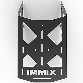 100-007-black Immix Racing Cargo Rack Luggage Carrier Utility Rear Tail Holder Black Powdercoat fits 90-16 Suzuki DR650