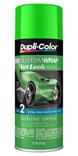 Dupli-Color ECWRC8840 Custom Wrap Wet Look Sublime Green