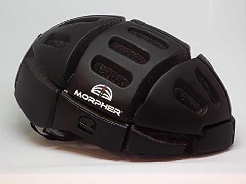 Morpher Folding Helmet (Matt Black) - Folding Bike Helmet