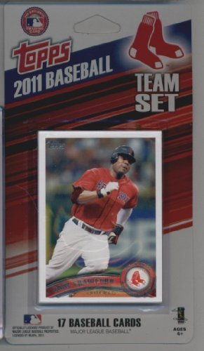 Baseball Topps Red Sox Boston Cards - 2011 Topps Limited Edition Boston Red Sox Baseball Card Team Set (17 Cards) - Not Available In Packs!!