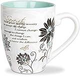 Pavilion Gift 66311 Mark My Words 4-3/4-Inch Serenity Mug, 20-Ounce