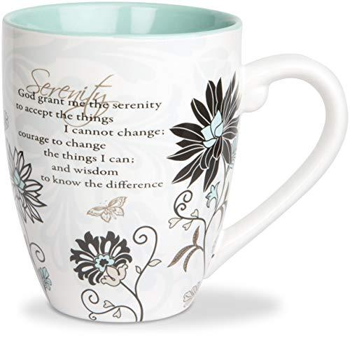 Pavilion Gift 66311 Mark My Words 4-3/4-Inch Serenity Mug, 20-Ounce ()