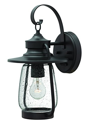 Hinkley 2090SB Nautical One Light Wall Mount from Calistoga collection in Bronze/Darkfinish, (Style Spanish Patio Lights)