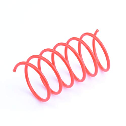 60 Pack Cat Spring Toy Plastic Colorful Coil Spiral Springs Pet Action Wide Durable Interactive Toys 4