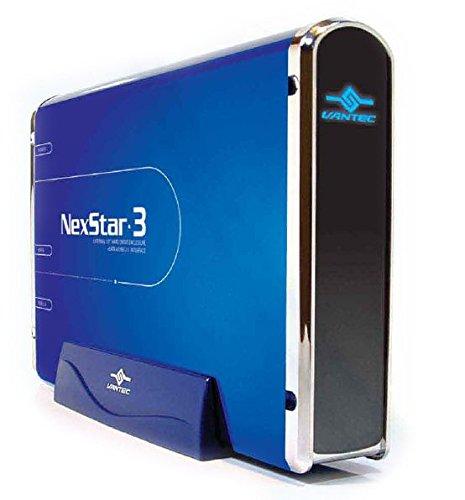 (Vantec NexStar 3 NST-360SU-BL 3.5-Inch SATA to USB 2.0 and eSATA External Hard Drive Enclosure (Midnight Blue))