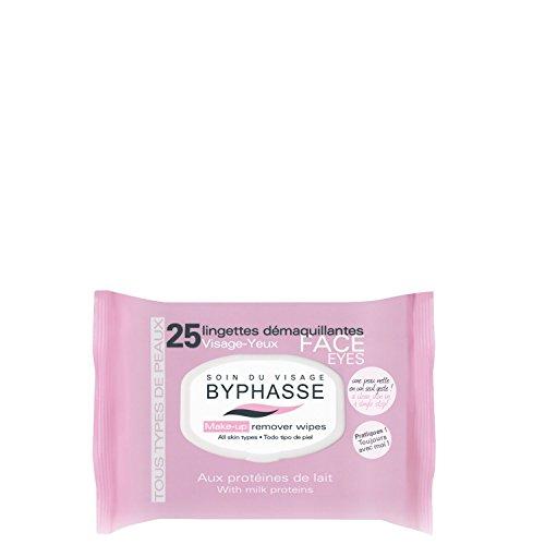 25 toallitas démaquillantes en los proteínas de leche - todos tipos de pieles: Amazon.es: Salud y cuidado personal