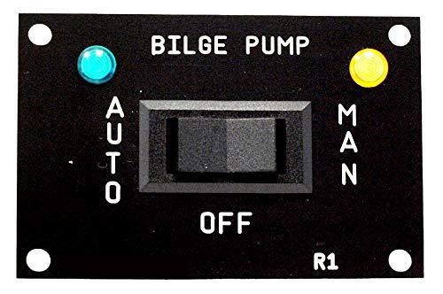 AQUALARM Bilge Pump 3 Way Switch, works with 12v, 24v, 32v Ultimate Outdoor Products