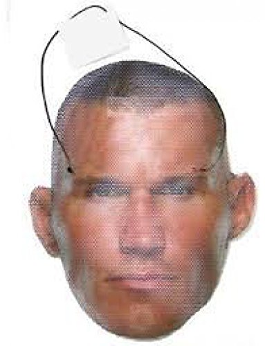 [WWE Face Wraps Randy Orton Face Mask NWT] (Randy Orton Costume)