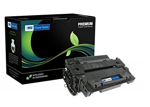 MSE Model MSE022155162 Extended Yield Toner Cartridge; Replacement for HP CE255X (HP 55X) OEM Cartridges; 20000 Pages Lifespan; Black ()