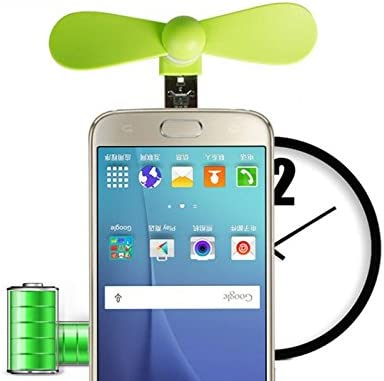 PrinceShop New Portable OTG Mini Micro USB strong Wind Cooling Fan For Phone Desktop Laptop