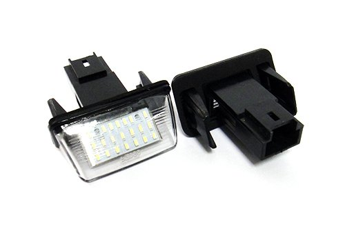 2x LED Kennzeichenleuchte Kein Fehler Wei/ß C3 C4 C5 Xsara 206 306 307 406 Partner