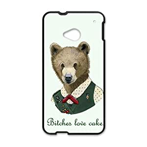 BYEB Bitches love cake Case Cover For HTC M7