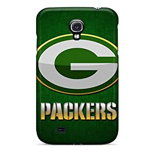 Durable Protector Case Cover With Green Bay Packers Hot Design For Galaxy S4