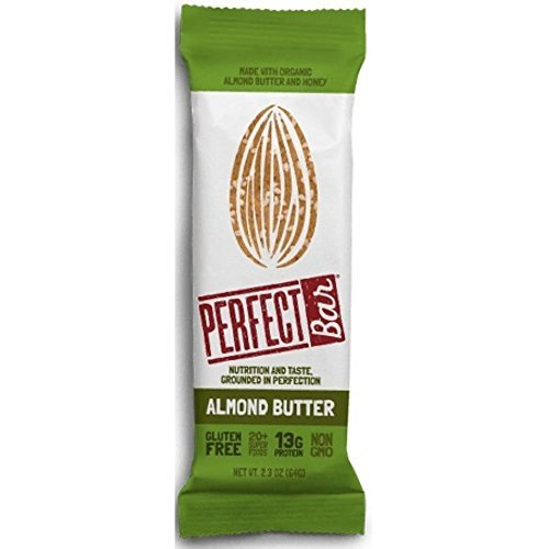 PERFECT FOODS Bar, Almond Butter, 2.29 Ounce (Pack of 8) ()