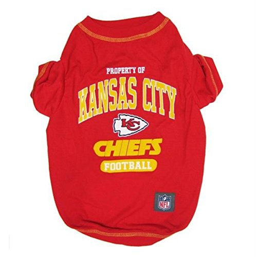 Kansas City Chiefs Pet T-Shirt - Small