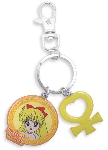 Great Eastern Entertainment Sailormoon Sailor Venus & Symbol Metal Keychain for $<!--$6.95-->