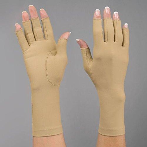 3/4 Finger Compression Gloves, Right, Large (10