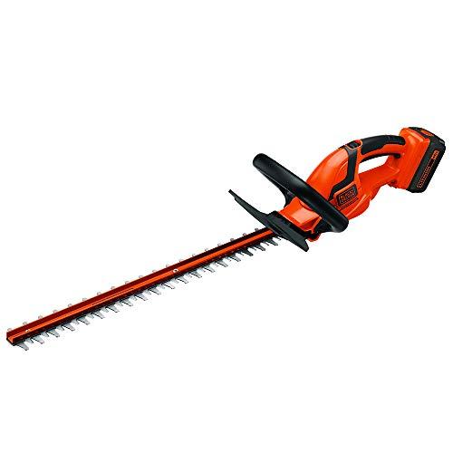 BLACK+DECKER LHT2436 40-Volt High Performance Cordless Hedge Trimmer