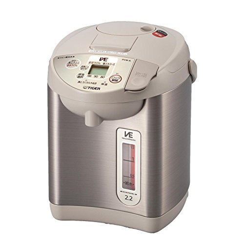 TIGER VE electricity especially thermo childs electric pot urban beige 2.2L PVW-A220-CU