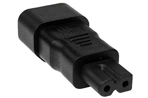 (SF Cable, Polarized C7 to C14 Power Plug Adapter)