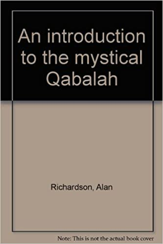 An Introduction To The Mystical Qabalah Alan Richardson Amazon