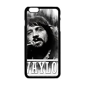 QQQO waylon jennings Phone Case for Iphone 6 Plus hjbrhga1544