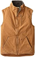 Carhartt Men's Tall Sherpa Lined Sandstone Mock Neck Vest V33