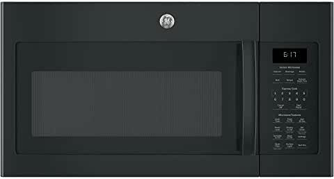 GE 1.7 Cu. Ft. Black Over-The-Range Microwave Oven