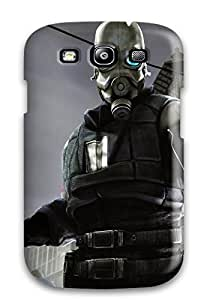 Excellent Galaxy S3 Case Tpu Cover Back Skin Protector Half Life 2 Combine