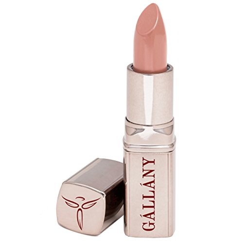 Gallany Cosmetics Crème Satin Lipstick Naked, Toasted Brown Sugar, Hydrates Dry Lips, Wears Like Lip Balm, Cruelty-Free, Made in USA -