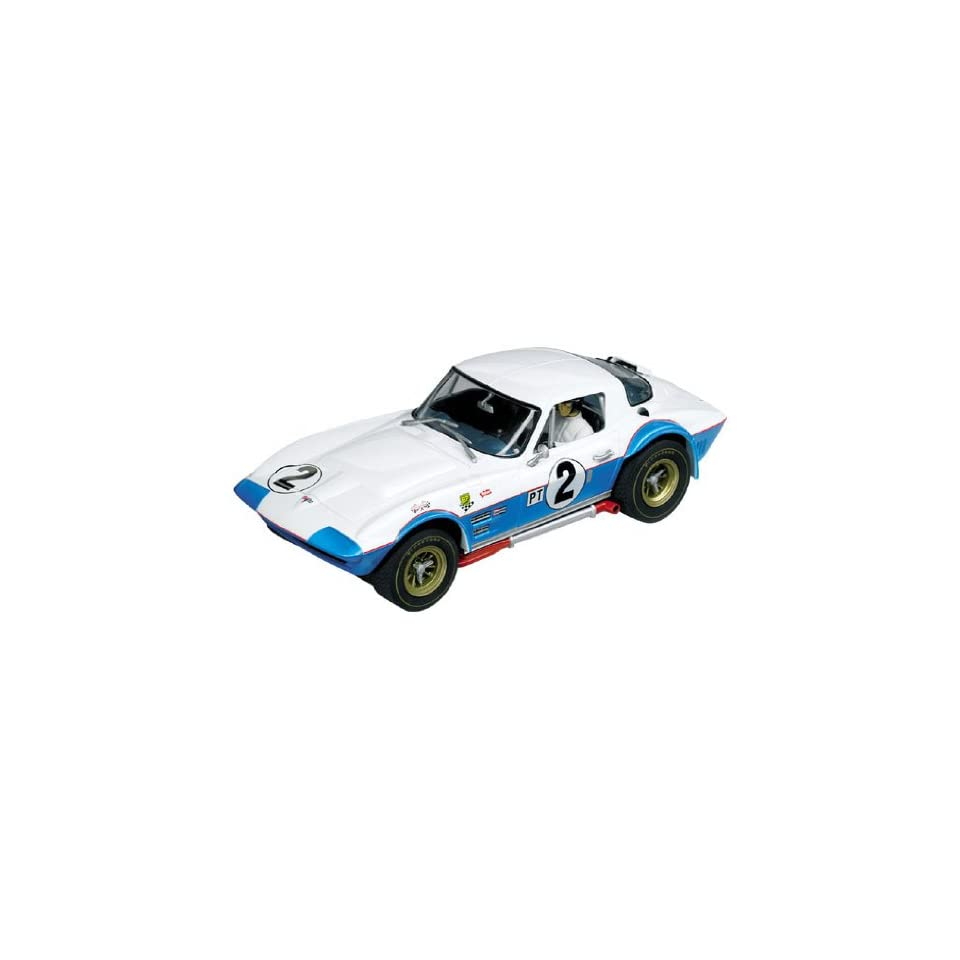 Carrera USA Digital 124, Chevrolet Corvette Grand Sport Sebring 12h 1965 No.2 Race Car