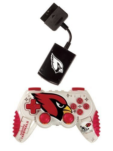 Playstation 2 Arizona Cardinals Wireless Game Pad by Mad (Mad Catz Ps2 Wireless)