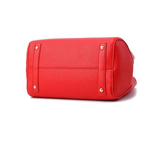Regalo Bolso Rojo Gran Hombro Color Bag De La Boda Lady Black Sobre Navidad Messenger Capacidad 7SwxBT