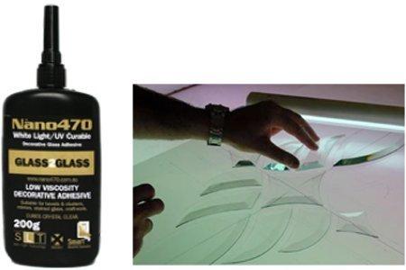 TroySys Nano470 Decorative Glass Glue, 200 g