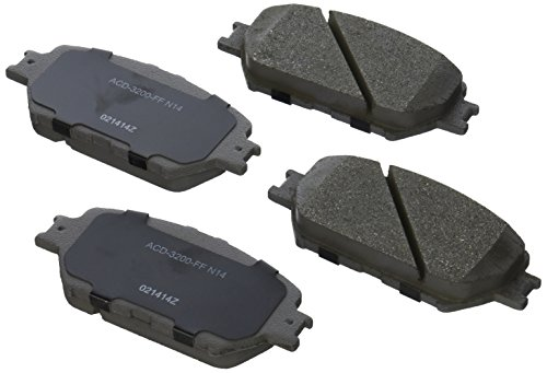 (ACDelco 14D908CH Advantage Ceramic Front Disc Brake Pad Set)