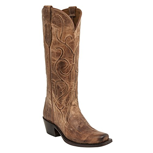 Lucchese Femmes Patsy Bottes Tan
