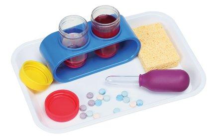 Montessori: Operating a Dropper Activity