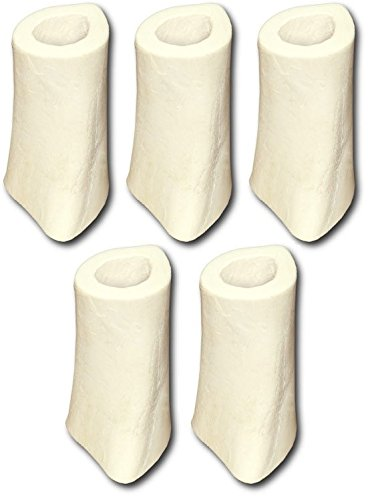Cadet Sterile Natural Bone for Dogs, 4 to 6-inch, White (Pack of (White Bone Dog)