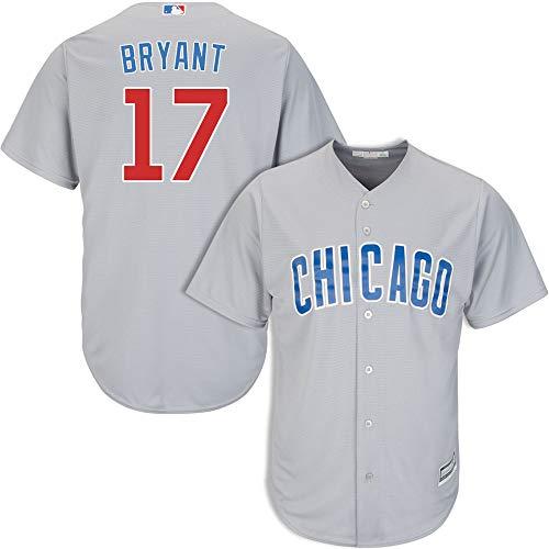 VF LSG Men's #17 Kris Bryant Chicago Cubs Road Jersey XL Gray