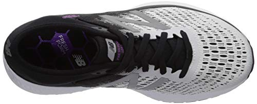 New Balance 1080v9 Women's Fresh Foam Running White Black Voltage Violet