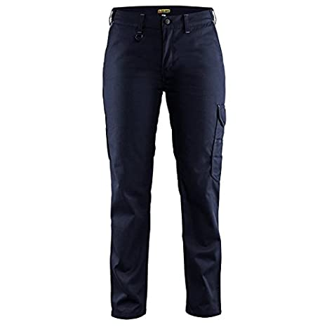 Blaklä der 710418008994C34 Size C34'Industry' Ladies Trousers - Navy Blue/Grey Blakläder