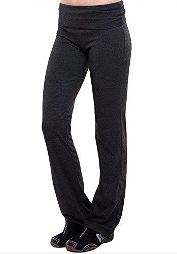 Neonysweets Women's Capri Yoga Pants Active Workout Pants Ru