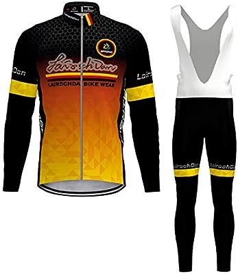 Flying Fish Maillot Ciclismo Corto De Verano para Hombre, Ropa Culote Conjunto Traje Culotte Deportivo con 3D Almohadilla De Gel para Bicicleta MTB ...