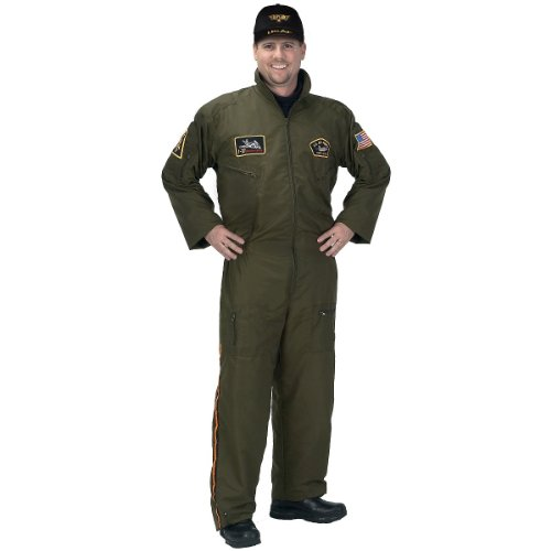 Adult Armed Forces Pilot Suit - 4