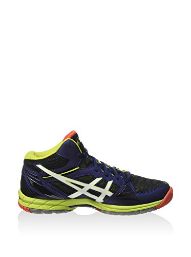 Asics Gel-Volley Elite 3 MT Men's Volleyball Shoes (B501N) NAVY / WHITE / LIME finishline for sale yqC3Bspz
