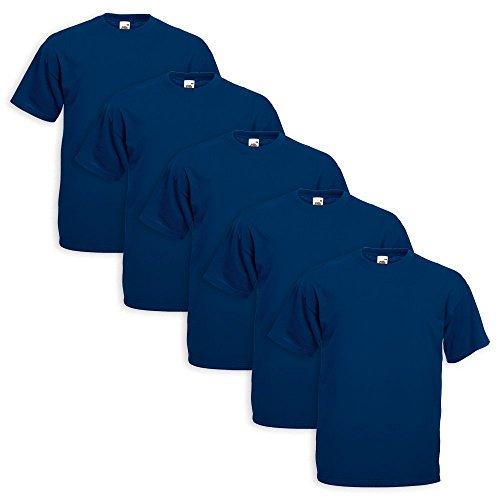Fruit Men's Long sleeve Coat 5 Pezzi Blu Navy OXnJUqXFP4