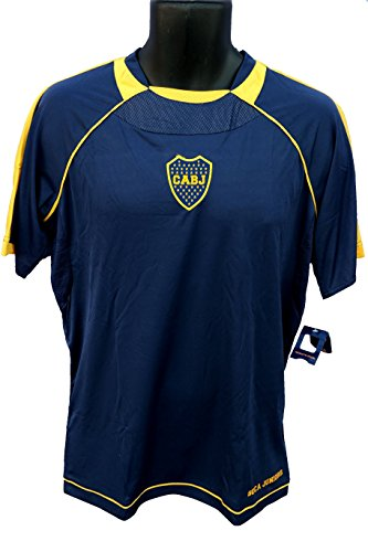 reputable site ad557 e213f Boca Juniors Officially Licensed Youth Soccer Training Performance Poly  Jersey 002 Youth Size